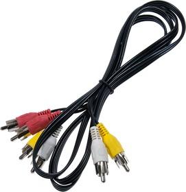 3RCAm-3RCAm, аудио-видео шнур 1.5 м 3,5мм