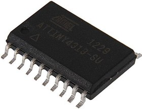 Фото 1/2 ATTINY4313-SU, Микроконтроллер 8-Бит, AVR, 20МГц, 4КБ Flash [SO-20W]