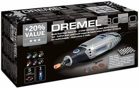 Фото 1/2 Dremel 3000 «Три звезды» Набор, Инструмент многофункциональный