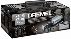 Фото 1/2 Dremel 3000 «Четыре звезды» Набор, Инструмент многофункциональный