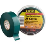 Scotch 35 19мм х 20м х 0,18мм (зеленая), Изолента ПВХ ...