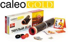 Теплый пол CALEO GOLD 170-0,5-3,0 нагревательный мат 0.5мм 510Вт 3м2 гарантия 15лет