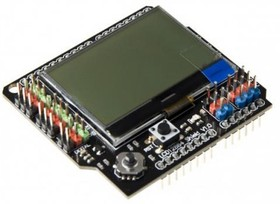 Фото 1/3 LCD128x64 Shield for Arduino, (DFR0287)
