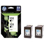 Двойная упаковка картриджей HP 131 CB331HE, черный