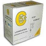 Кабель LANMASTER (LAN-5EFTP-WP-OUT) FTP 4 пары кат.5Е 200Mhz ...