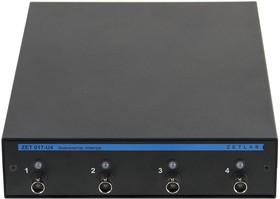 Фото 1/4 ZET 017-U4, Анализатор спектра до 20 кГц, USB, Ethernet, Wi-Fi (Госреестр)