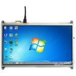 Фото 4/4 10.1inch HDMI LCD, HDMI дисплей 1024×600px с резистивной сенсорной панелью для Raspberry Pi