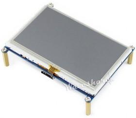 Фото 1/4 4.3inch HDMI LCD, HDMI дисплей 480×272px с резистивной сенсорной панелью для Raspberry Pi