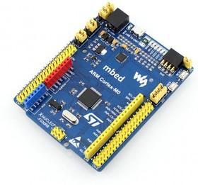 Фото 1/4 XNUCLEO-F302R8, Отладочный комплект на базе MCU STM32F302R8T6 (Cortex-M4), ST-LINK/V2 (mini), Arduino-интерфейс