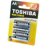 TOSHIBA HIGH POWER LR6GCP BP-4 LR6 BL4, Элемент питания