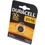 DURACELL CR2016 BL1, Элемент питания