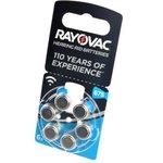 RAYOVAC 675 BL6, Элемент питания