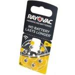 RAYOVAC 10 BL6, Элемент питания