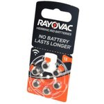 RAYOVAC 13 BL6, Элемент питания