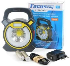 Фото 1/2 FOCUSray 425 автомобильный с USB входом, Фонарь