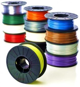 PLA plastic 3mm for 3D printers. 1000g. [Green], (PLA plastic 3mm (Green))