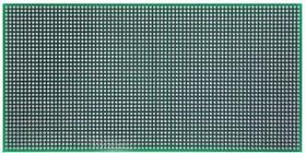 """Печатная плата """"Слепыш"""", Печатная плата двусторонняя 2,54мм 200х100мм"""