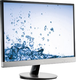 i2369V, Монитор LCD 23'' [16:9] 1920х1080 IPS, nonGLARE, 250cd/m2, H178°/V178°, 50М:1, 5ms, VGA, DVI, Tilt,