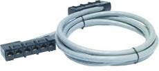 DDCC5E-005, APC Data Distribution Cable CAT5e UTP CMR Gray 6xRJ-45 Jack to 6xRJ-45 Jack 5ft (1.5m)