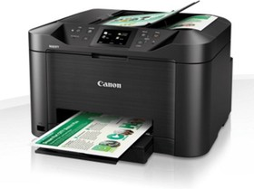 0960C007, MAXIFY MB5140 черный, струйный, A4, цветной, ч.б. 24 стр/мин, цвет 15 стр/мин, печать 600x1200, скан