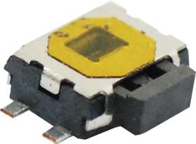 KLS7-TS6335-1.65-180-T, Кнопка тактовая SMD с заземлением