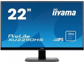 XU2290HS-B1, Монитор LCD 21,5'' [16:9] 1920х1080 IPS, nonGLARE, 250cd/m2, H178°/V178°, 1000:1, 5М:1, 16,7M Color,