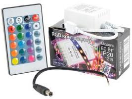 General GDC-RGB-80-I-IP20-12 ИК-контроллер и пульт, Блок питания для светодиодного освещения