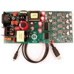 Фото 3/4 STR-USBC-4PORT-200W-EVK, USB AC-DC 4-Port 200W Source USB Evaluation Board for FUSB252, FUSB307, NCP1399 for FUSB252UMX