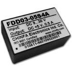 FDD03-05S4A, DC/DC преобразователь, 3Вт, вход 9-36В ...