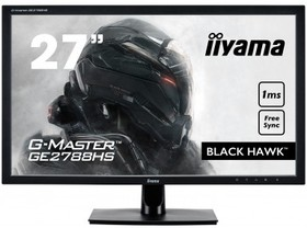 GE2788HS-B2, Монитор LCD 27'' 16:9 1920х1080 TN, nonGLARE, 300cd/m2, H170°/V160°, 1000:1, 12М:1, 16,7M Color, 1ms