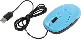 31010233102, Мышь XScroll V3, USB, G5, голубая (blue, optical 1000dpi, подходит под обе руки)