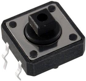 Фото 1/2 KLS7-TS1204-7.3-180 (TC-12ET) (SWT-9), Кнопка тактовая 12х12, h=7мм