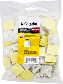 Площадки Navigator 71 062 NFP-25-100/WH (100 шт/упак)