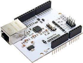 Фото 1/3 Ethernet Shield, Ethernet интерфейс к Arduino-совместимой плате (W5500)