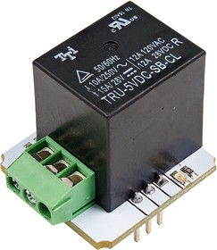 Фото 1/3 Troyka-Mini Relay, Релейный модуль для Arduino, Raspberry Pi проектов