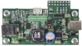 STEVAL-ISC004V1, STUSB4710A USB Interface IC Evaluation Board