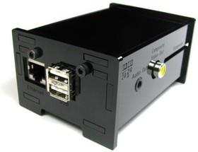 Фото 1/7 Raspberry Pi Enclosure Kit [black], (Raspberry Pi Enclosure Kit - Black)