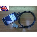 Фото 2/2 RS232 DB9 cable for iPad/iPhone [jailbreak], (CONV-ipad-db9)