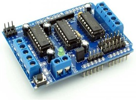Фото 1/4 Motor Drive Shield L293D for Arduino, (PES027)