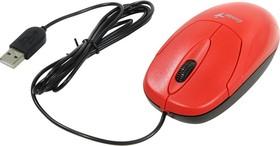 31010233101, Мышь XScroll V3, USB, G5, красная (red, optical 1000dpi, подходит под обе руки)