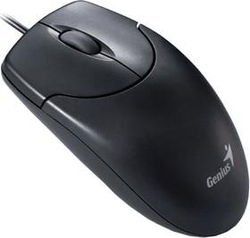 31010235100, Мышь NetScroll 120 V2, USB, чёрная (black, optical 1000dpi, подходит под обе руки)