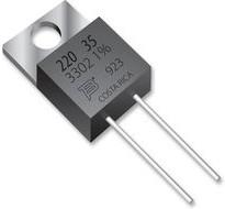 Фото 1/3 PWR220T-35-R270F, 35Вт, 0,27 Ом, 1%, Резистор силовой
