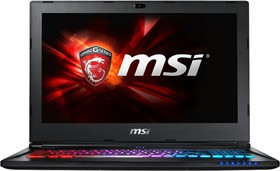 GS60 6QE-452XRU, GS60 6QE (MS-16H7) 15.6'' FHD(1920x1080) nonGLARE/Intel Core i7-6700HQ 2.60GHz Quad/8GB/128GB SSD+1