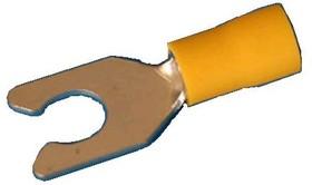 TYLI-5.5-6, Клемма тип 'U' 6,4мм. пров. 4.0-6.0мм с защелкой, изол.(LSV5-6) (кратно 100шт.)