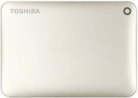 "HDTC805EC3AA, Внешний жесткий диск Toshiba Canvio Connect II 500GB Gold 2.5"" USB 3.0"
