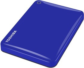 "Фото 1/2 HDTC805EL3AA, Внешний жесткий диск Toshiba HDTC805EL3AA Canvio Connect II 500GB 2.5"" USB 3.0 Blue"