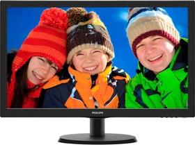 223V5LHSB (00/01), Монитор LCD 21,5'' [16:9] 1920х1080 TN, nonGLARE, nonTOUCH, 250cd/m2, H170°/V160°, 10М:1, 16,7M Colo