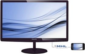 277E6EDAD (00/01), Монитор LCD 27'' [16:9] 1920х1080 IPS, nonGLARE, 300cd/m2, H178°/V178°, 20М:1, 5ms, VGA, DVI, HDMI,