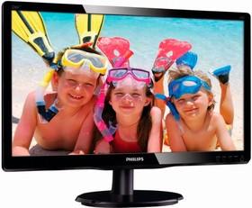 226V4LSB (00/01), Монитор LCD 21,5'' 16:9 1920х1080 TN, nonGLARE, nonTOUCH, 250cd/m2, H170°/V160°, 1000:1, 10М:1, 16,7