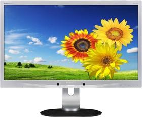 231P4QPYEB (00/01), Монитор LCD 23'' [16:9] 1920х1080 IPS, nonGLARE, 250cd/m2, H178°/V178°, 20М:1, 7ms, VGA, DVI, DP, US